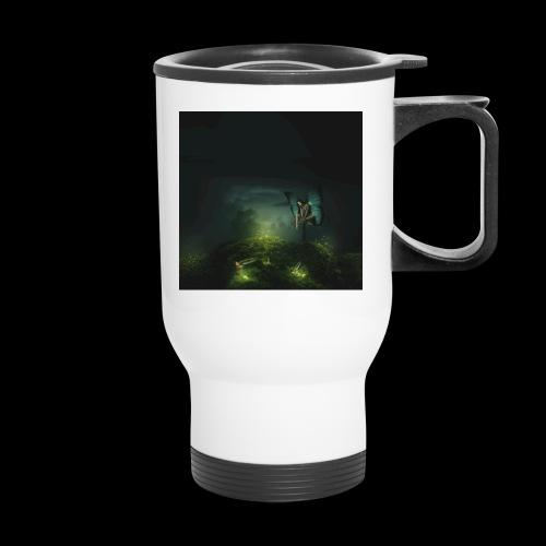 A Rest On Firefly Path - Travel Mug