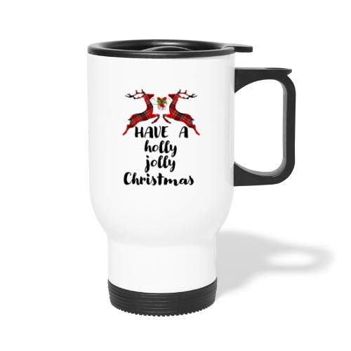 Holly Jolly Christmas - Travel Mug