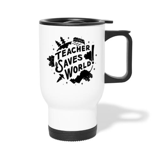 TSW! Retro World Design - Travel Mug