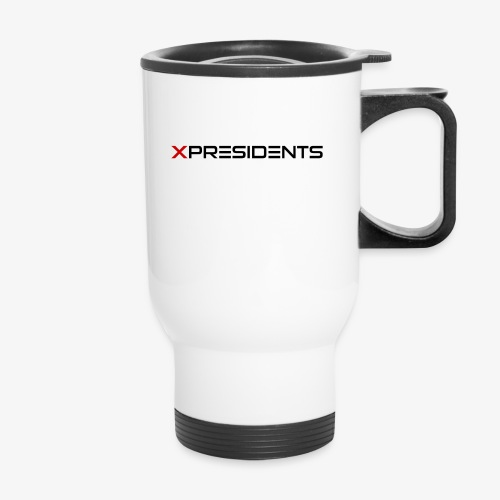 XP | Full Black Logo - Travel Mug