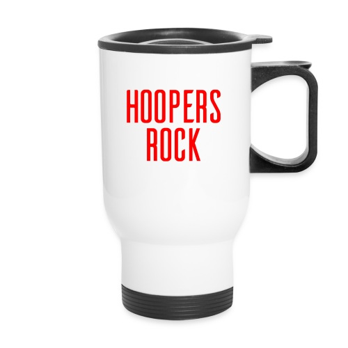 Hoopers Rock - Red - Travel Mug with Handle