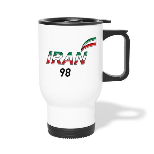 Iran's France 98 20th Anniversary Tee - Travel Mug