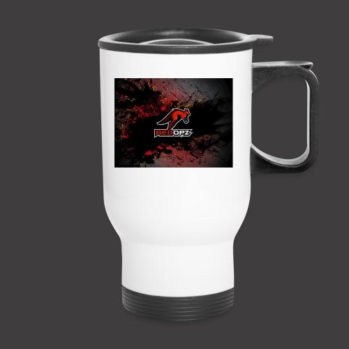 RedOpz Splatter - Travel Mug