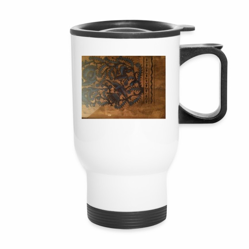 Dilfliremanspiderdoghappynessdogslikeitverymuchtha - Travel Mug