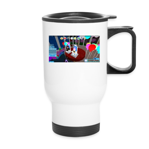 prom queen - Travel Mug with Handle