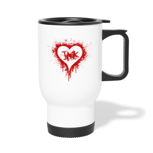 I Love Ink_red - Travel Mug