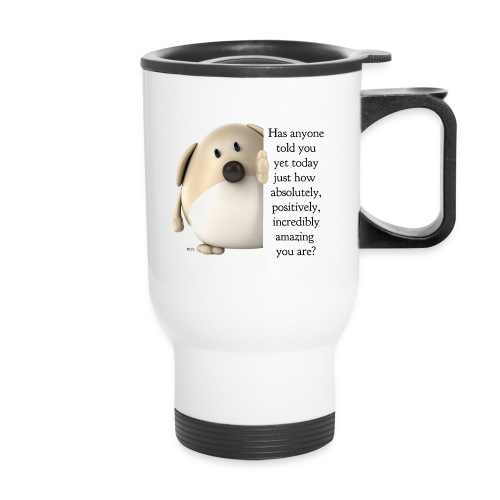 amazing dog (for light) - Travel Mug