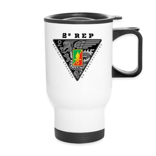 2e REP - Foreign Legion - Badge - Dark - Travel Mug