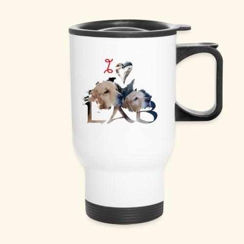 I love Lab - Travel Mug