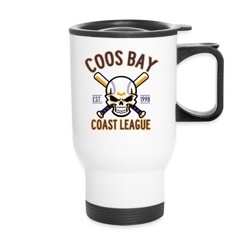 Coos Bay Coast League on White or Gray - Travel Mug