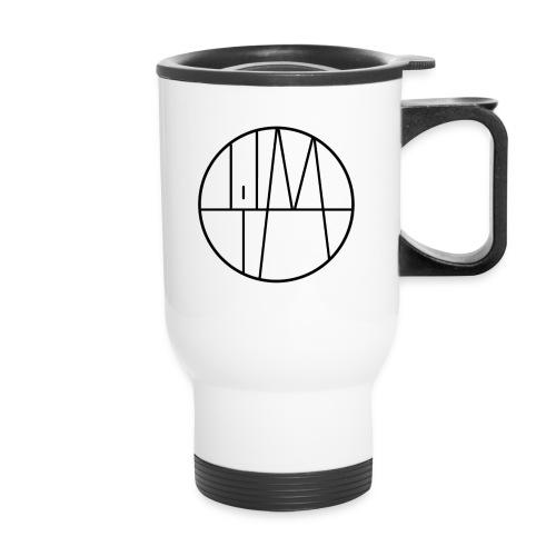 Lil M Logo 2 Black - Travel Mug