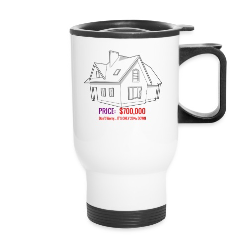Fannie & Freddie Joke - Travel Mug with Handle