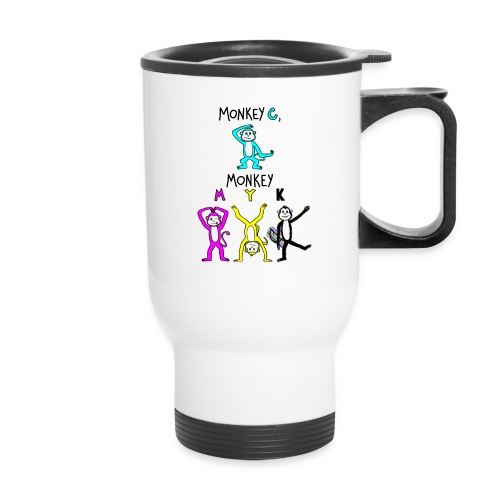 monkey see myk - Travel Mug