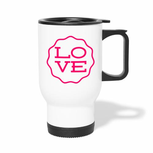 love design - Travel Mug
