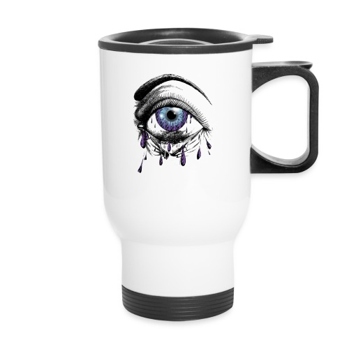 Lightning Tears - Travel Mug