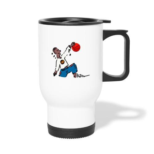 Basketball - Travel Mug with Handle