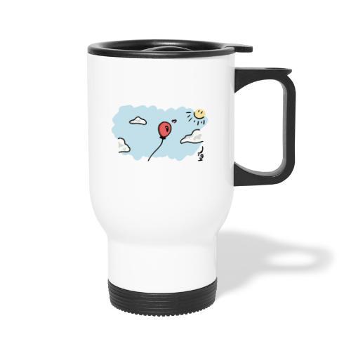 Balloon in Love - Travel Mug with Handle