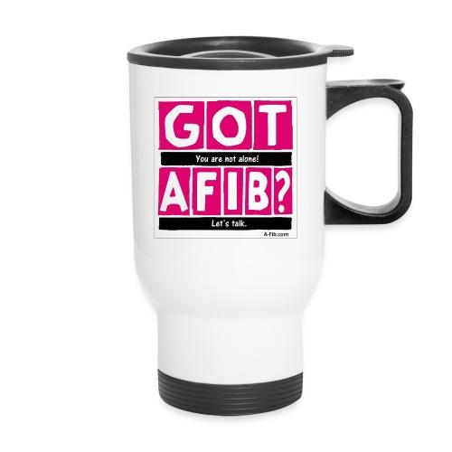 cutter got afib lets talk - Travel Mug