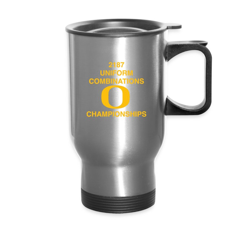 2187 UNIFORM COMBINATIONS O CHAMPIONSHIPS - Travel Mug