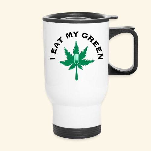 I Eat My Green - Travel Mug