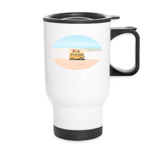 Noosa Car Beach - Travel Mug with Handle