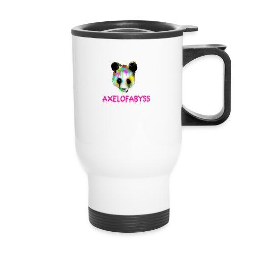 Axelofabyss panda panda paint - Travel Mug