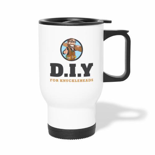 DIY For Knuckleheads Logo. - Travel Mug