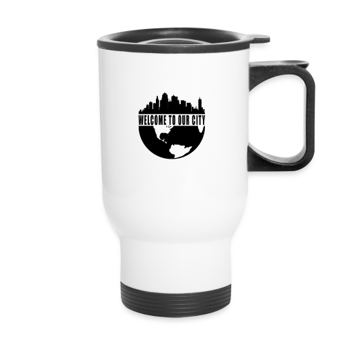 WTOC Logo Black - Travel Mug