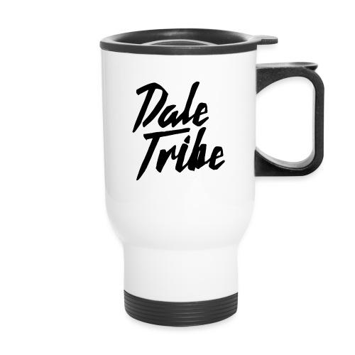 Dale Tribe Logo BLACK - Travel Mug with Handle