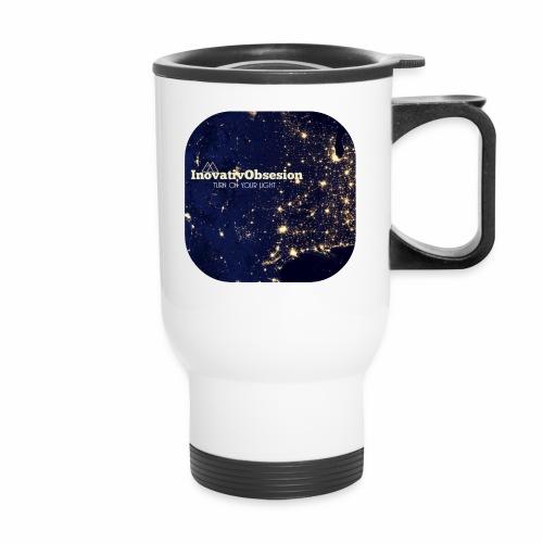 "InovativObsesion ""TURN ON YOU LIGHT"" Apparel - Travel Mug"