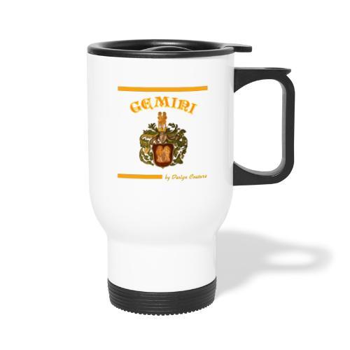 GEMINI ORANGE - Travel Mug