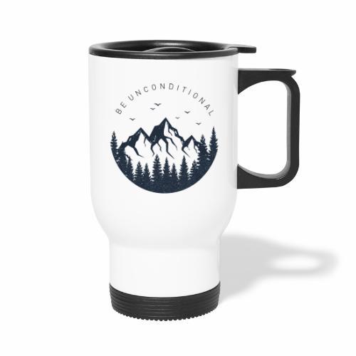 unconditional camping mug - Travel Mug