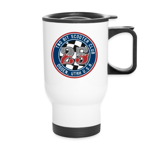Two Bit Scooter Club Logo - Travel Mug