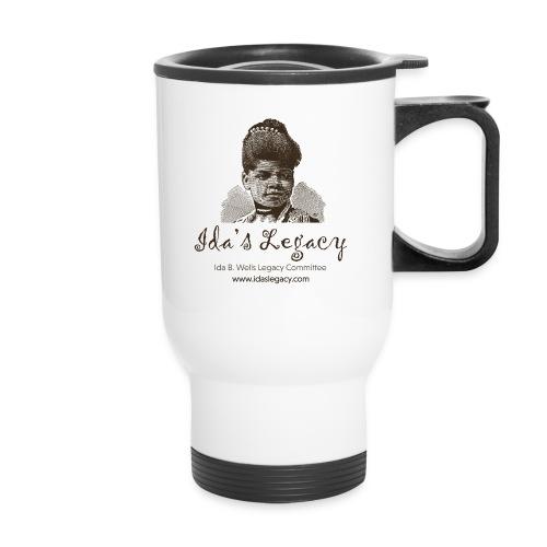 Ida's Legacy One Color Art - Travel Mug with Handle
