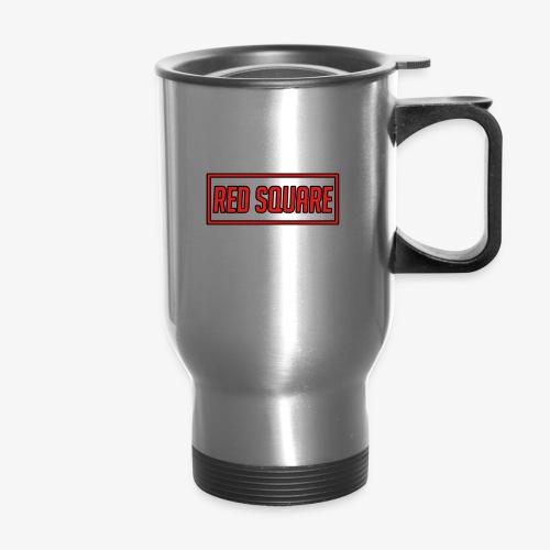 Red Square Logo V2 - Travel Mug
