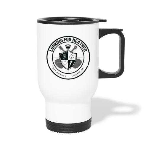 Looking For Heather - Crest Logo - Travel Mug