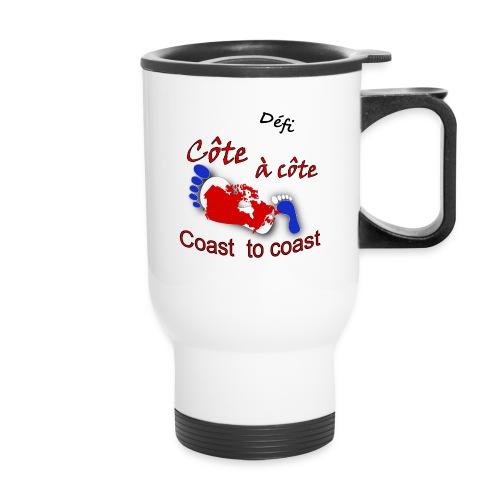 Défi côte à côte - Travel Mug