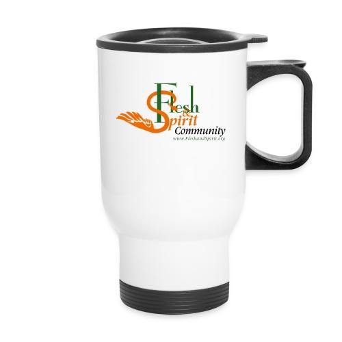 Flesh and Spirit Community T-Shirt - Travel Mug