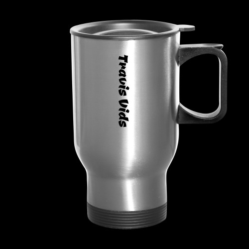 White shirt - Travel Mug
