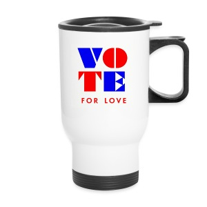 vote4love-sample - Travel Mug