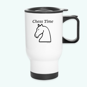 chesstim1_bw2 - Travel Mug