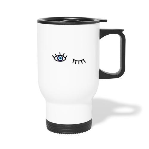 evil eye - Travel Mug