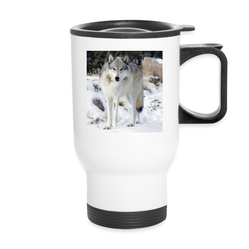 Canis lupus occidentalis - Travel Mug