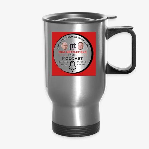 Mini Battlefield Games Podcast - Travel Mug