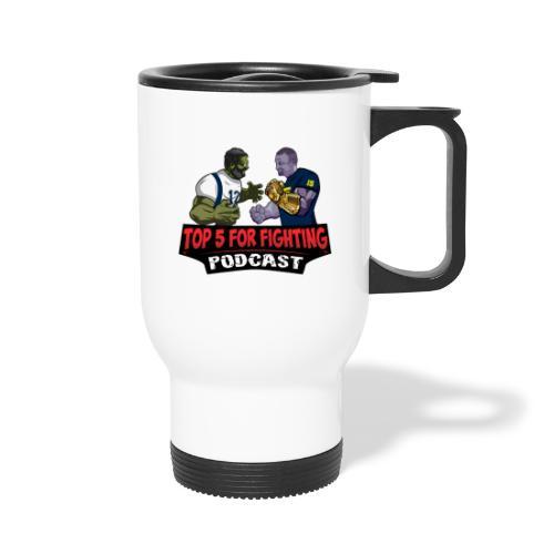 Top 5 for Fighting Logo - Travel Mug