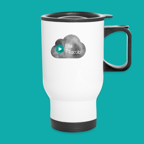 Ellie n Jacob logo - Travel Mug