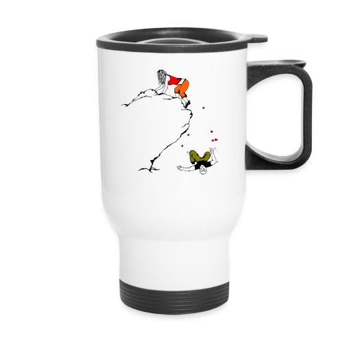 Lady Climber - Travel Mug with Handle