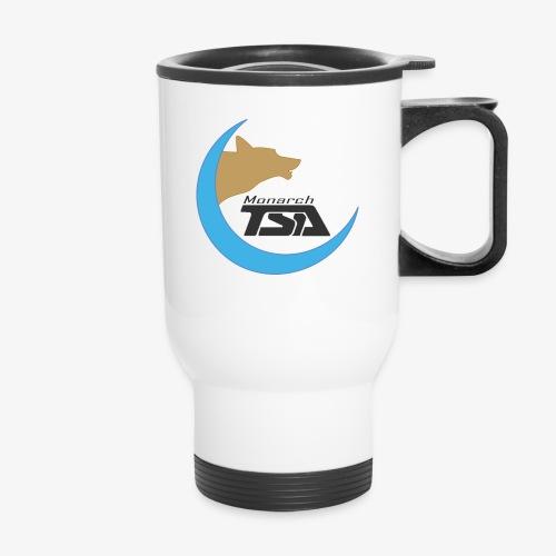 Monarch TSA Logo - Gray - Travel Mug