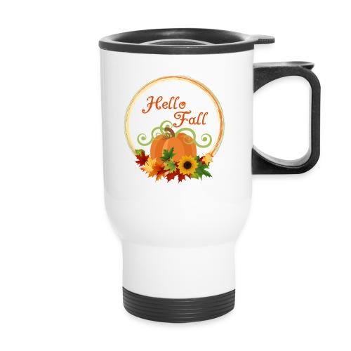 hello fall - Travel Mug
