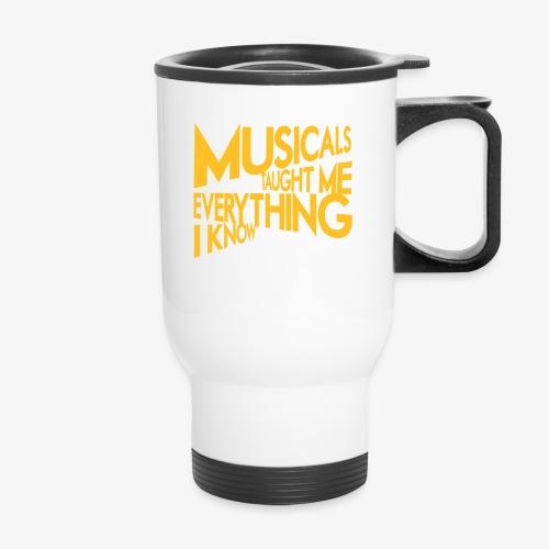 MTMEIK White Logo - Travel Mug